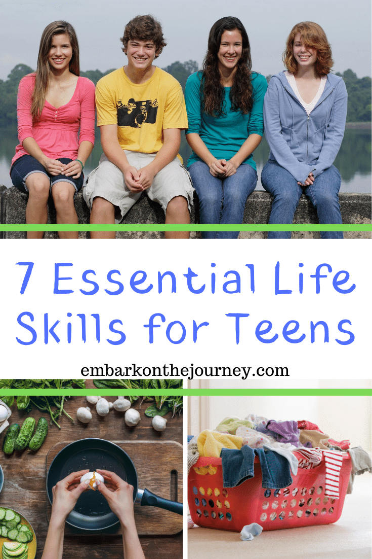 What are you doing today to prepare your teen for adulthood? I'm not talking about academics. I'm talking about real life skills  for teens that they'll need to survive outside your home.