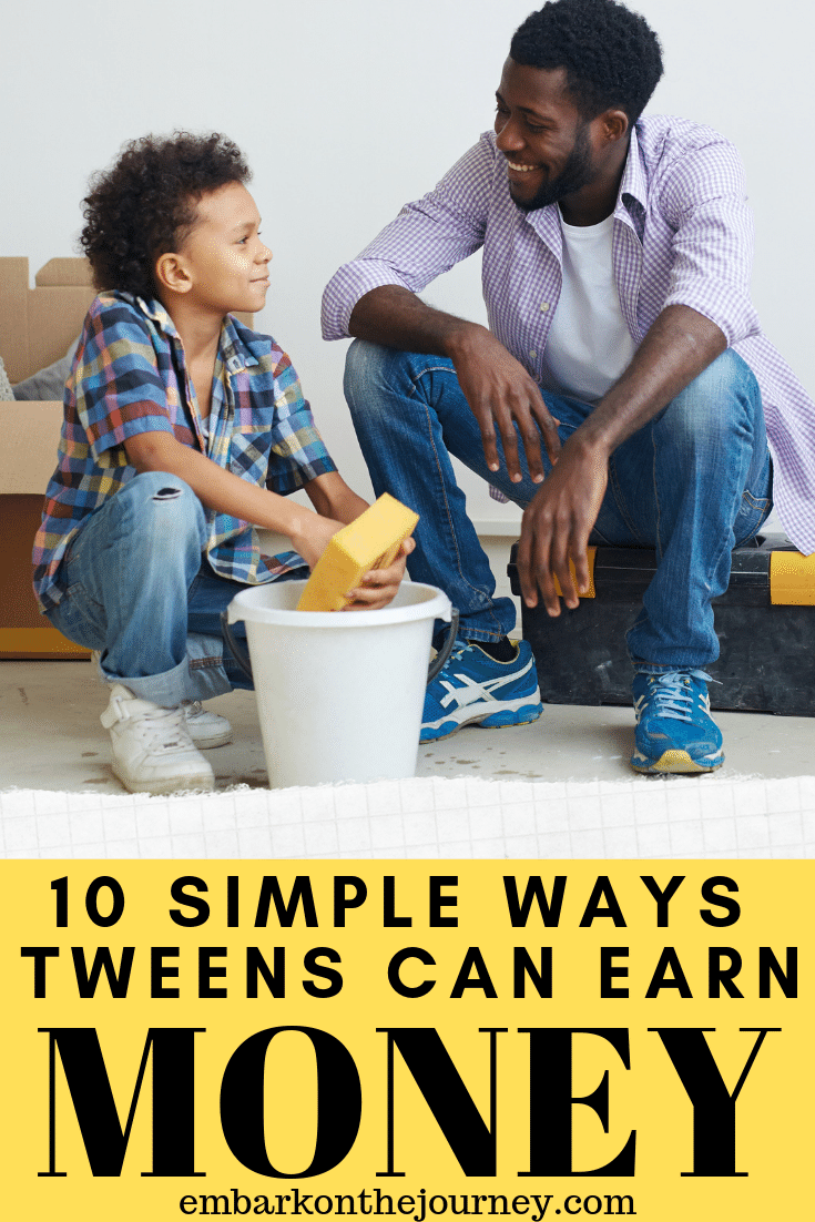 If you've got tweens who are looking for ways to earn money this summer, you'll love these easy ways for tweens to make money.