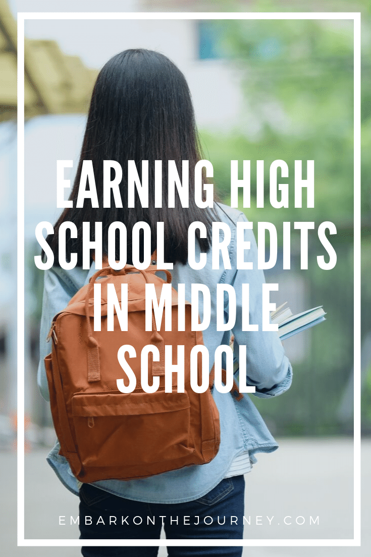 In most states, you can start earning high school credits in middle school. Discover five tips to consider when planning your school year.