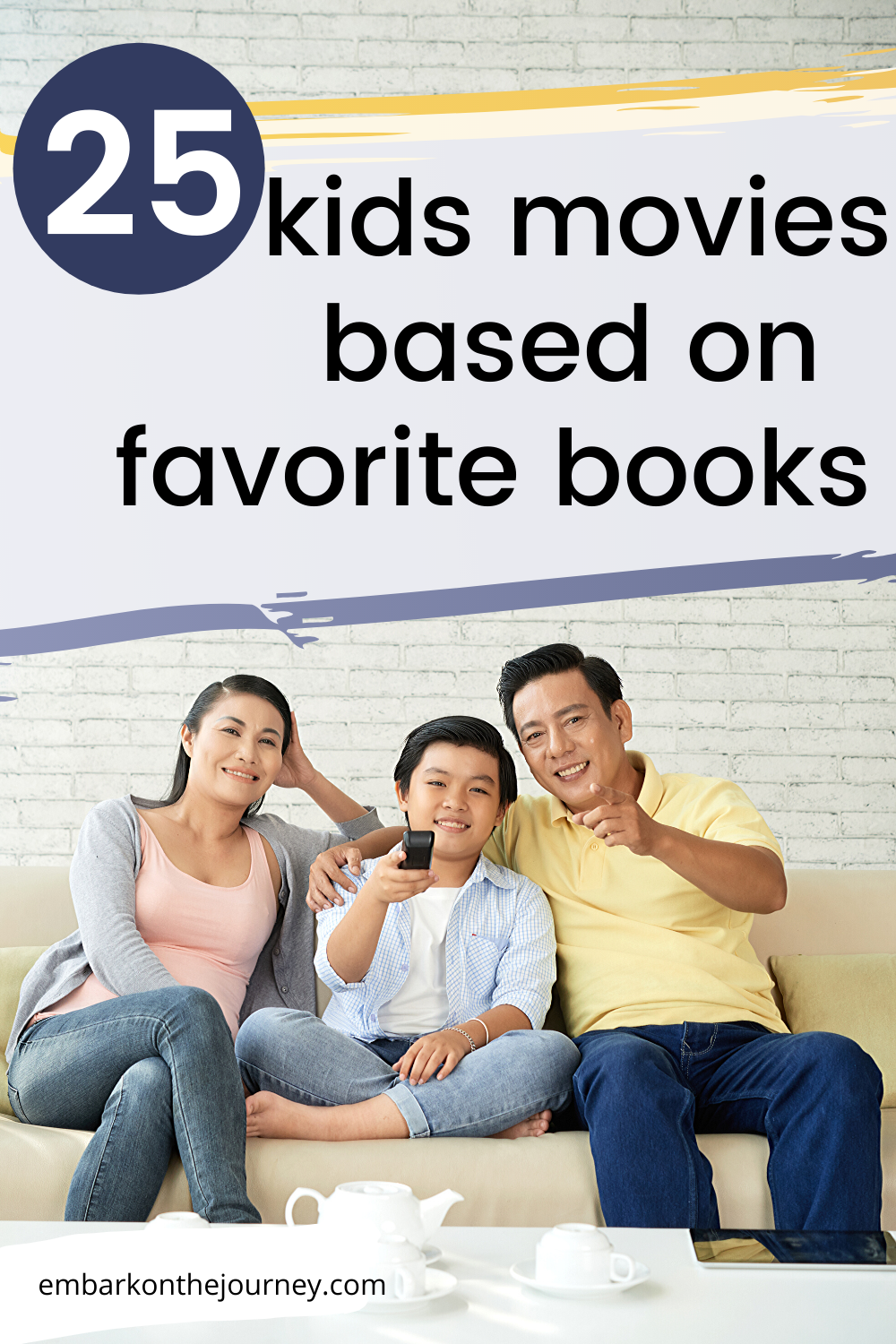This is an amazing list of the best kids movies based on books that kids in grades K-5 will enjoy! There's also a free printable list for you to download.