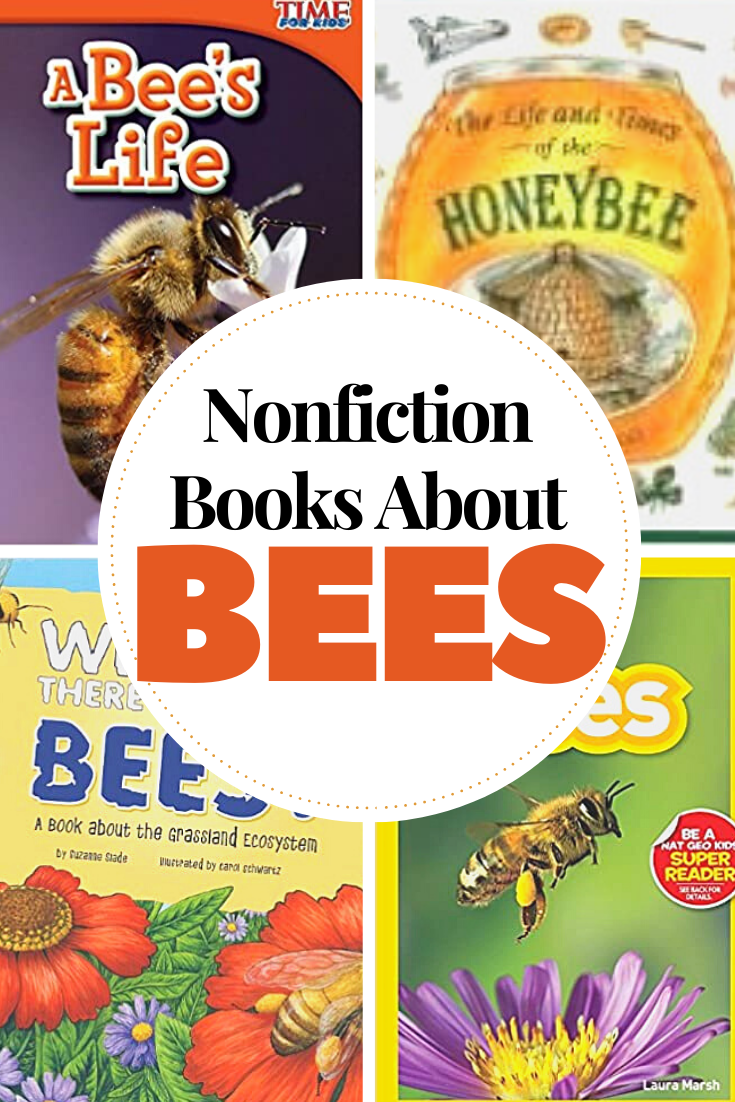 Studying bees this spring? Check out these nonfiction books about bees. Present factual information that will keep kids engaged.
