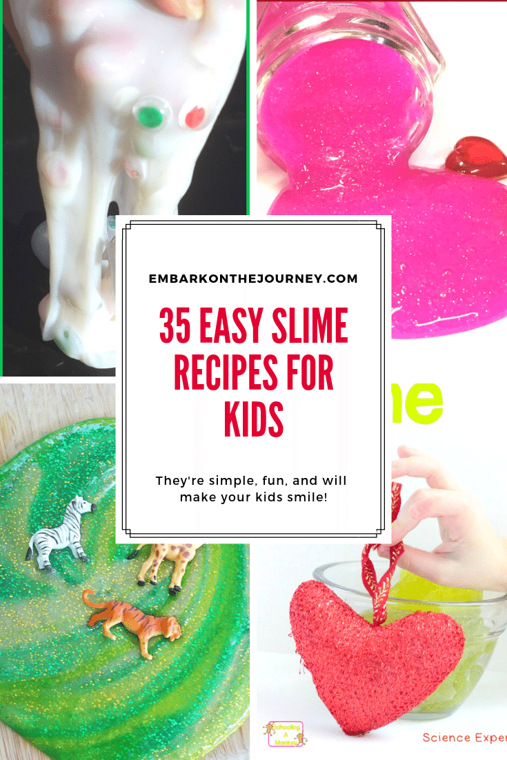 Easy Slime Recipes for Kids