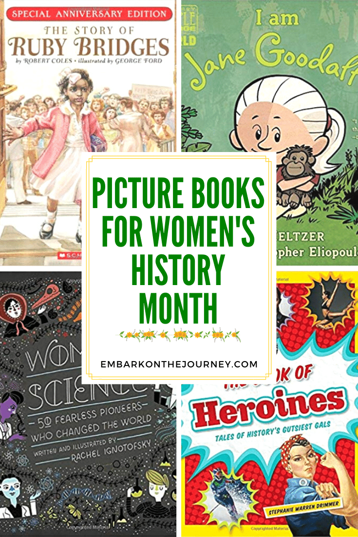 Picture Books for Women's History Month