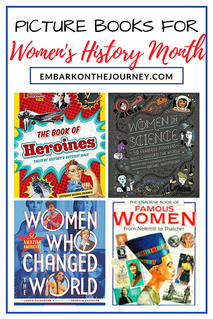 This March, fill your bookshelves with this amazing collection of picture books for Women's History Month. Teach kids about women who've changed the world!