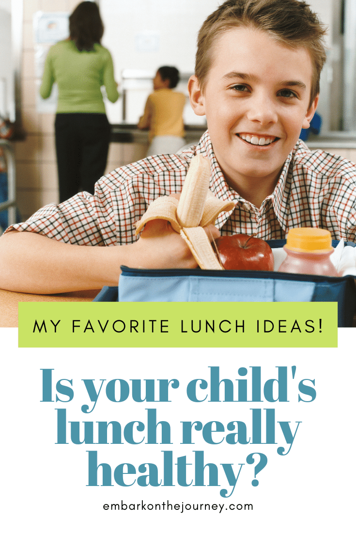 Are packed lunches healthier than eating out or in a cafeteria? Not always! Here's how I ensure my kids eat healthy every day.