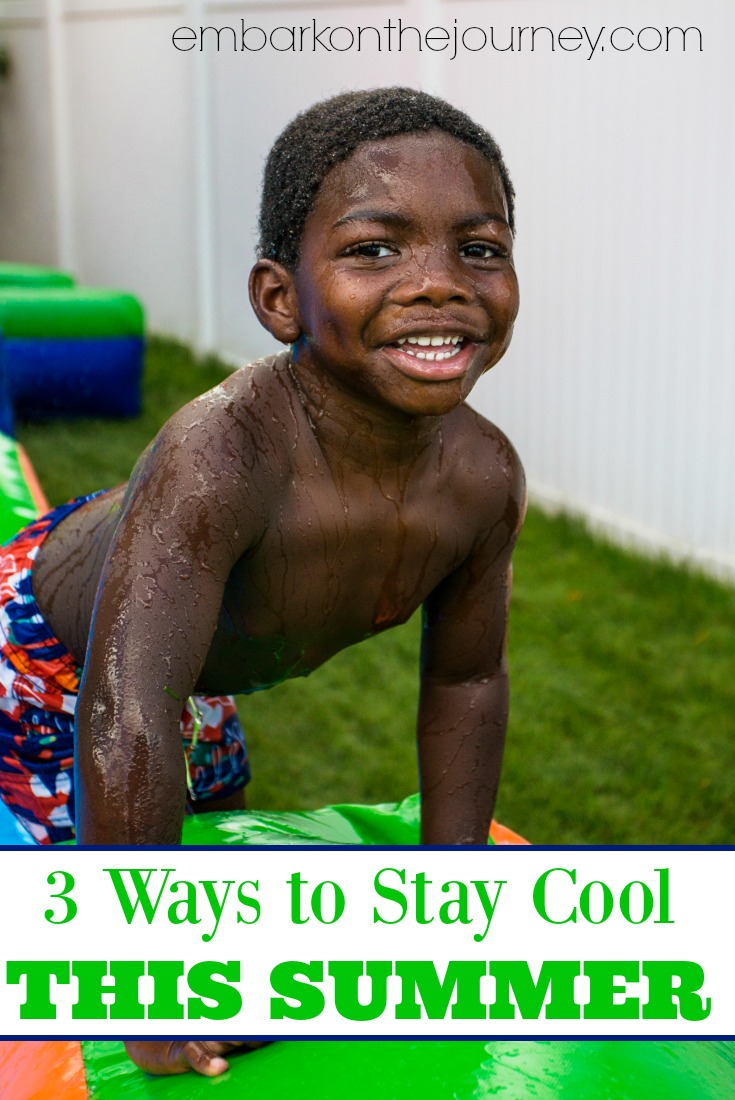 Come discover three ways to keep your kids cool this summer! Great boredom busters to add to your screen free summer activities!