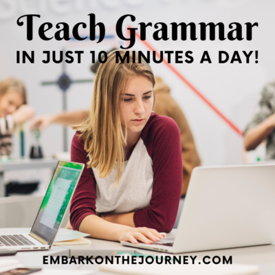 High School Grammar in Just 10 Minutes a Day