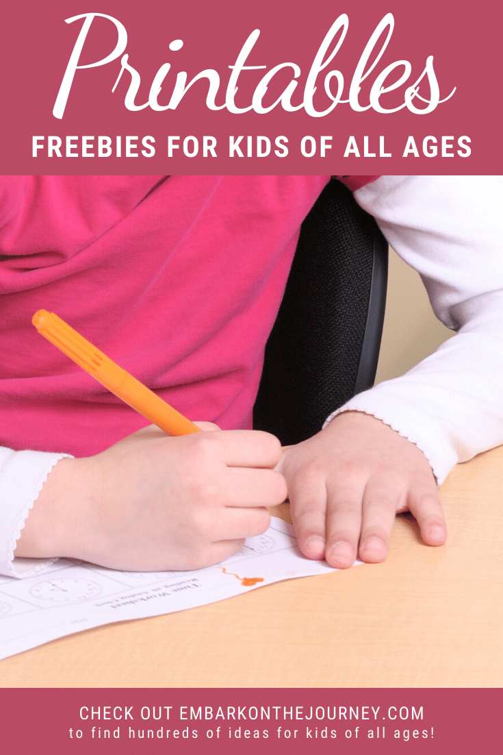 You CAN homeschool on a budget! I've created many free printables for kids that are designed to help you teach your kids at home.