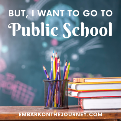 But I Want To Go To Public School