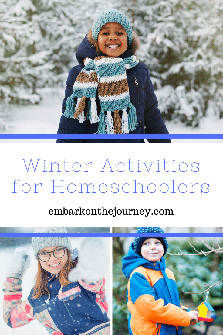 Need some fresh ideas and resources for your homeschool? These winter activities will perk up your homeschool and carry you straight through to spring!