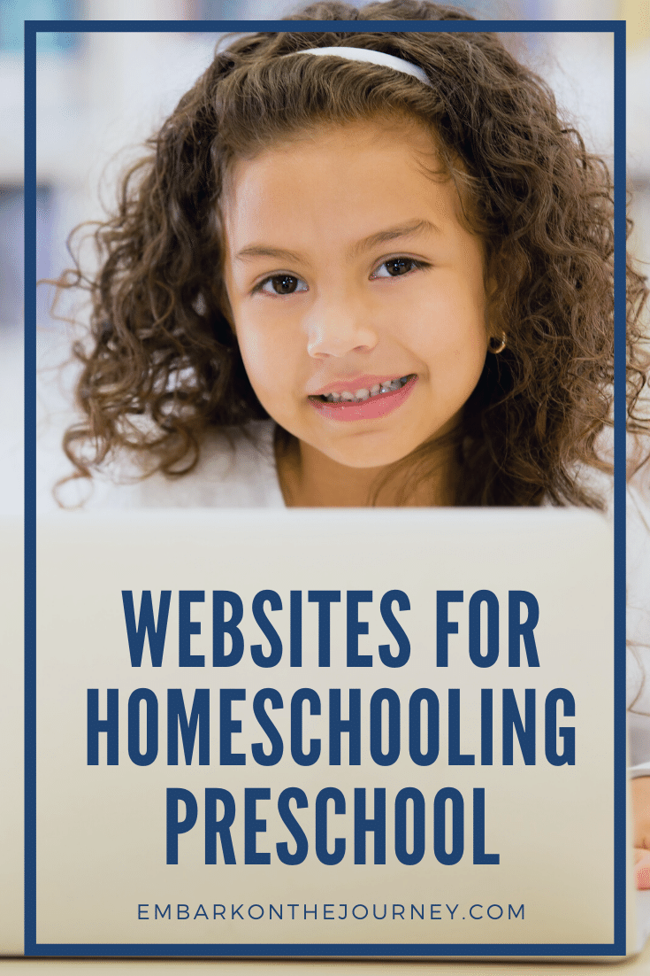Are you looking for an online preschool curriculum? Are you looking for fun educational activities? Don't miss these websites for homeschooling preschool.