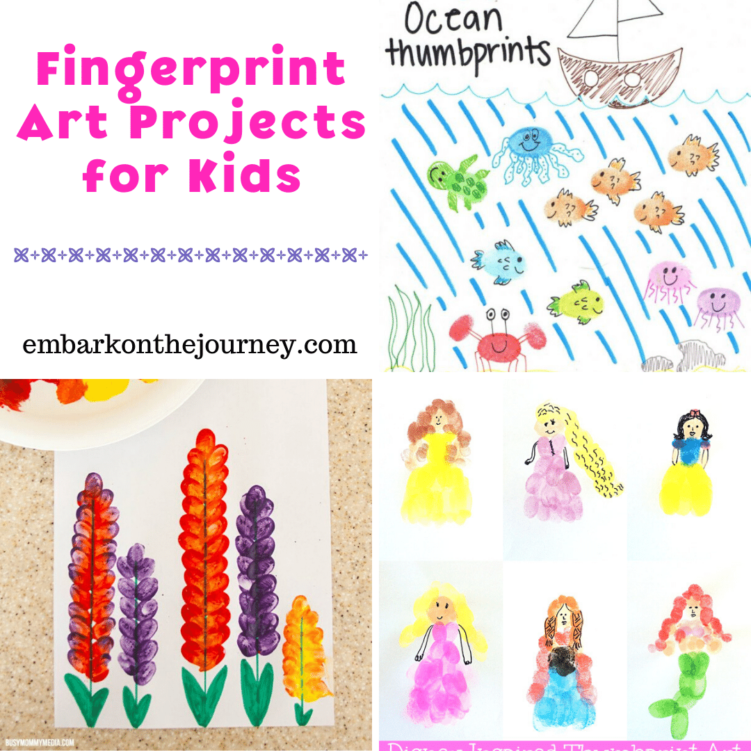 Looking for a fun but frugal art project for your kids to do? Try one or more of these ideas for fingerprint art for kids.