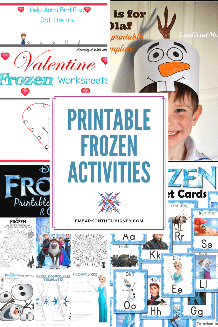 Fans of Ana and Elsa will love these free Frozen printable activities! They'll find crafts, learning activities, party favors, and more!
