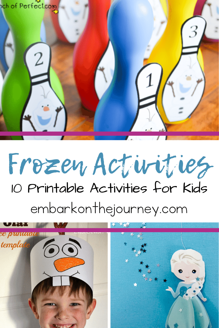 Free Frozen Printable Activities