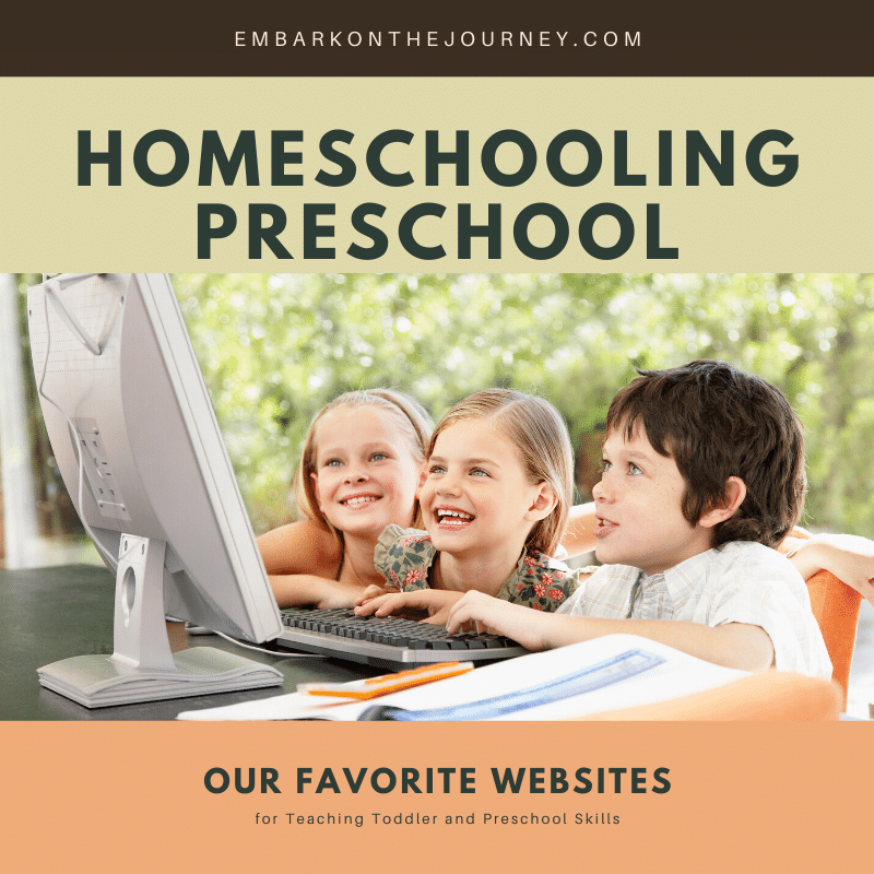 Top Websites for Homeschooling Preschool