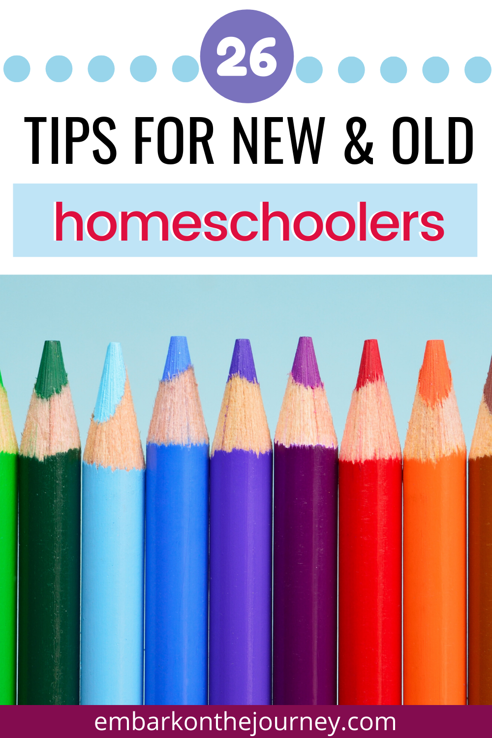 Discover 26 homeschooling tips for both new homeschoolers and seasoned ones. Find encouragement, tips, and ideas from A to Z!