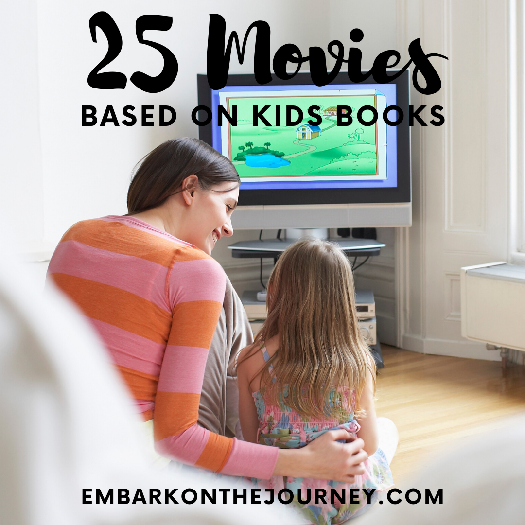 Don't miss this amazing list of the best kids movies based on books. Kids in grades K-5 will enjoy! These movies are perfect for kids ages 4-14!