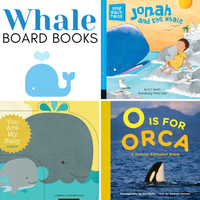 Whale Books for Toddlers