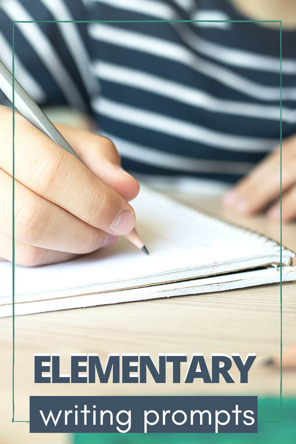 Get your student's creative juices flowing with these writing prompts for elementary students. Find seasonal, holiday, and every day prompts for kids.
