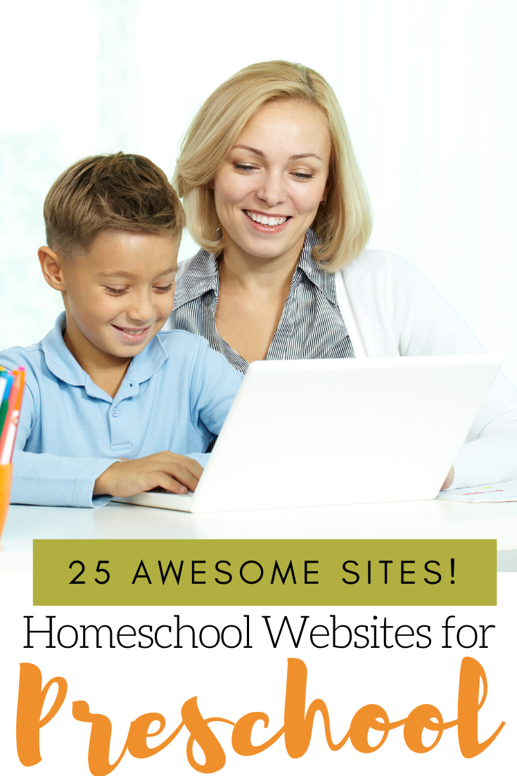 Whether you're a veteran homeschooler looking for new ideas or you're brand new to it, you don't want to miss these homeschool websites for preschool!