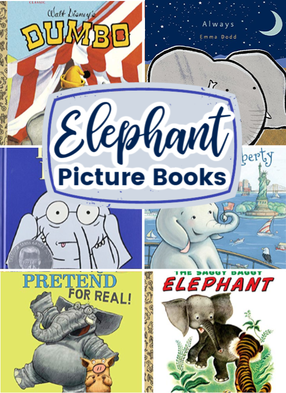 Fill your book basket with one or more of these engaging elephant picture books! Includes fiction and nonfiction selections.