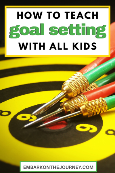 As kids grow, it's important to teach goal setting skills. These skills are important for helping kids succeed in school, sports, and in all areas of life.