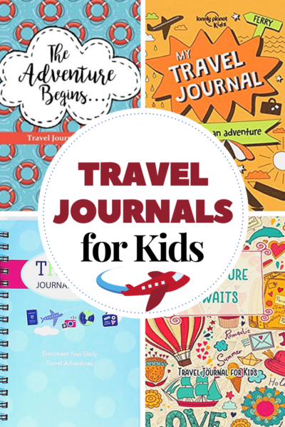 Before you head out on your next vacation, grab one of these fun travel journals for kids. They'll record their favorite memories and mementos in them.